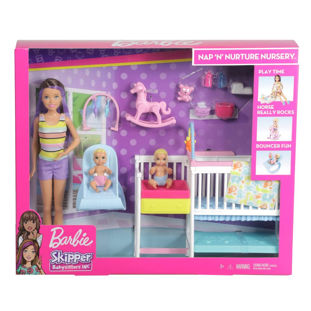 Barbie Skipper kinderkamerspeelset