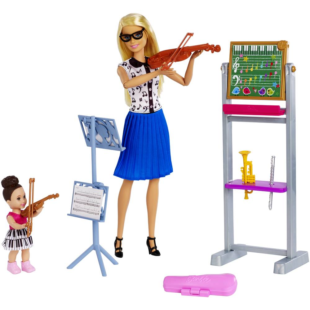 Barbie pop muzieklerares