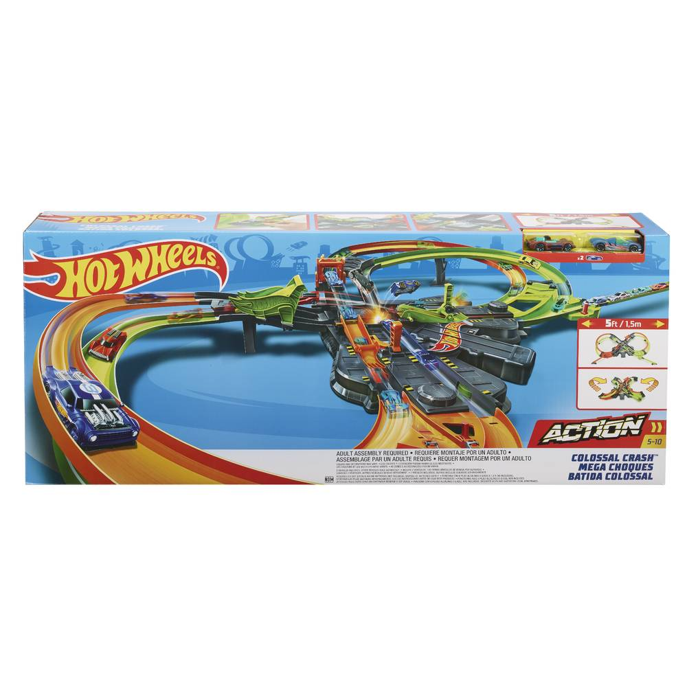 Hot Wheels Action gigantische botsing speelset