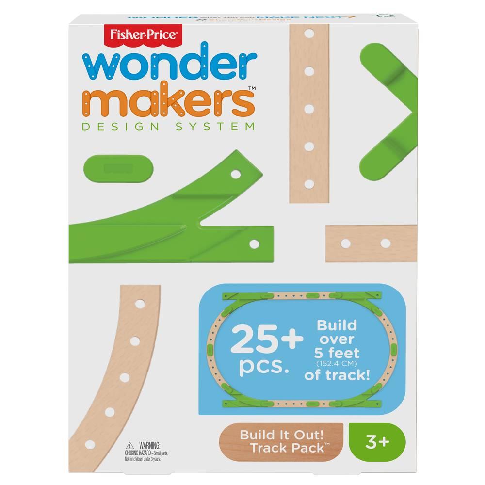 Fisher-Price Wonder Makers uitbreidingsset banenset Bouw het zelf!