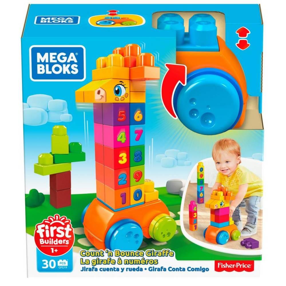 Mega Bloks 123 tellen maar 30-delig