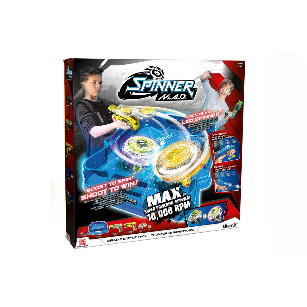 Spinner M.A.D. deluxe battle set + LED-spinners