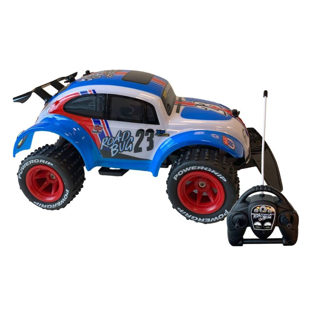 Gear2Play op afstandbestuurbare auto Road Bug buggy
