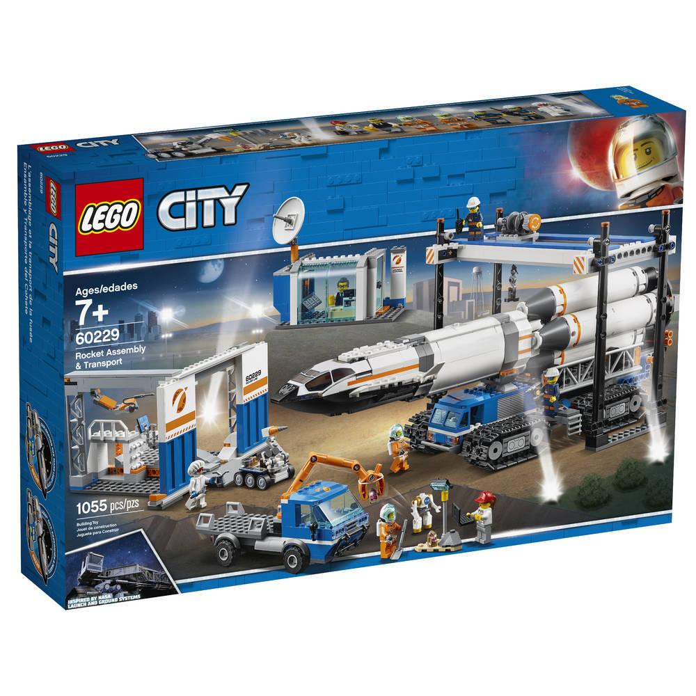 LEGO City raket bouwen en transporteren 60229