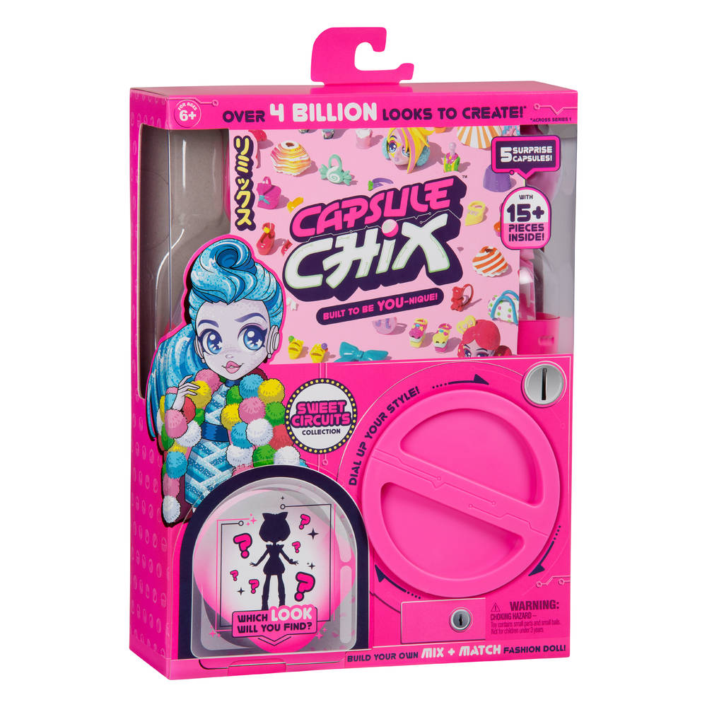 Capsule Chix S1 Sweet Circuits
