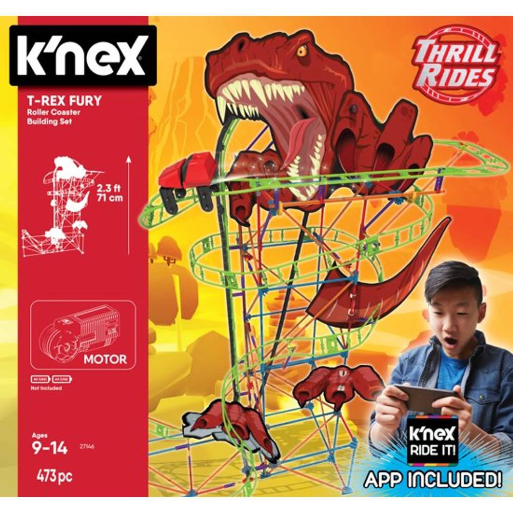 K'NEX Thrill Rides T-Rex Fury achtbaan bouwset