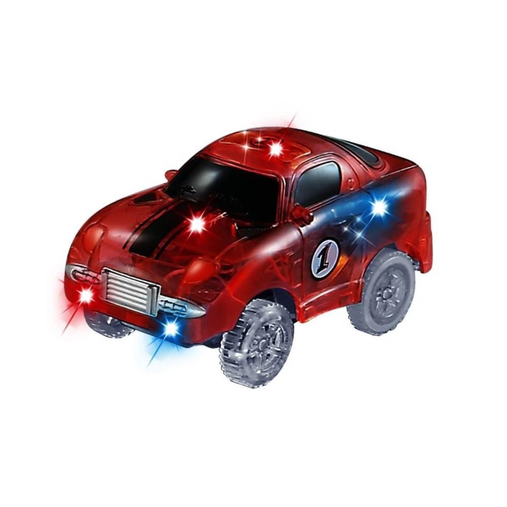 Wonky Monkey raceauto - rood