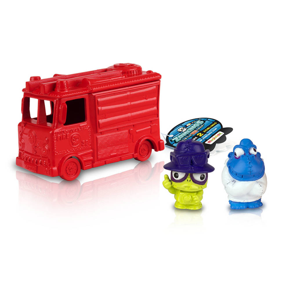 Zomlings series 5 vehicle pack