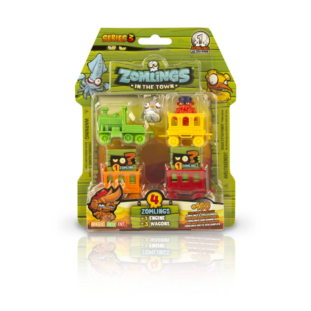 Zomlings series 3 Ghost Train blister