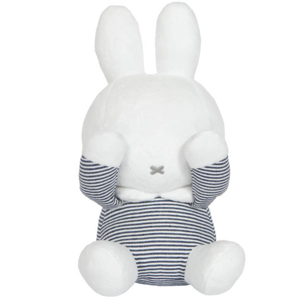 Nijntje Kiekeboe knuffel ABC - blauw/wit