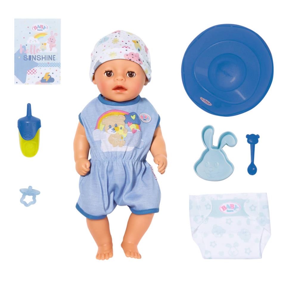 BABY born Soft Touch kleine jongen - 36 cm