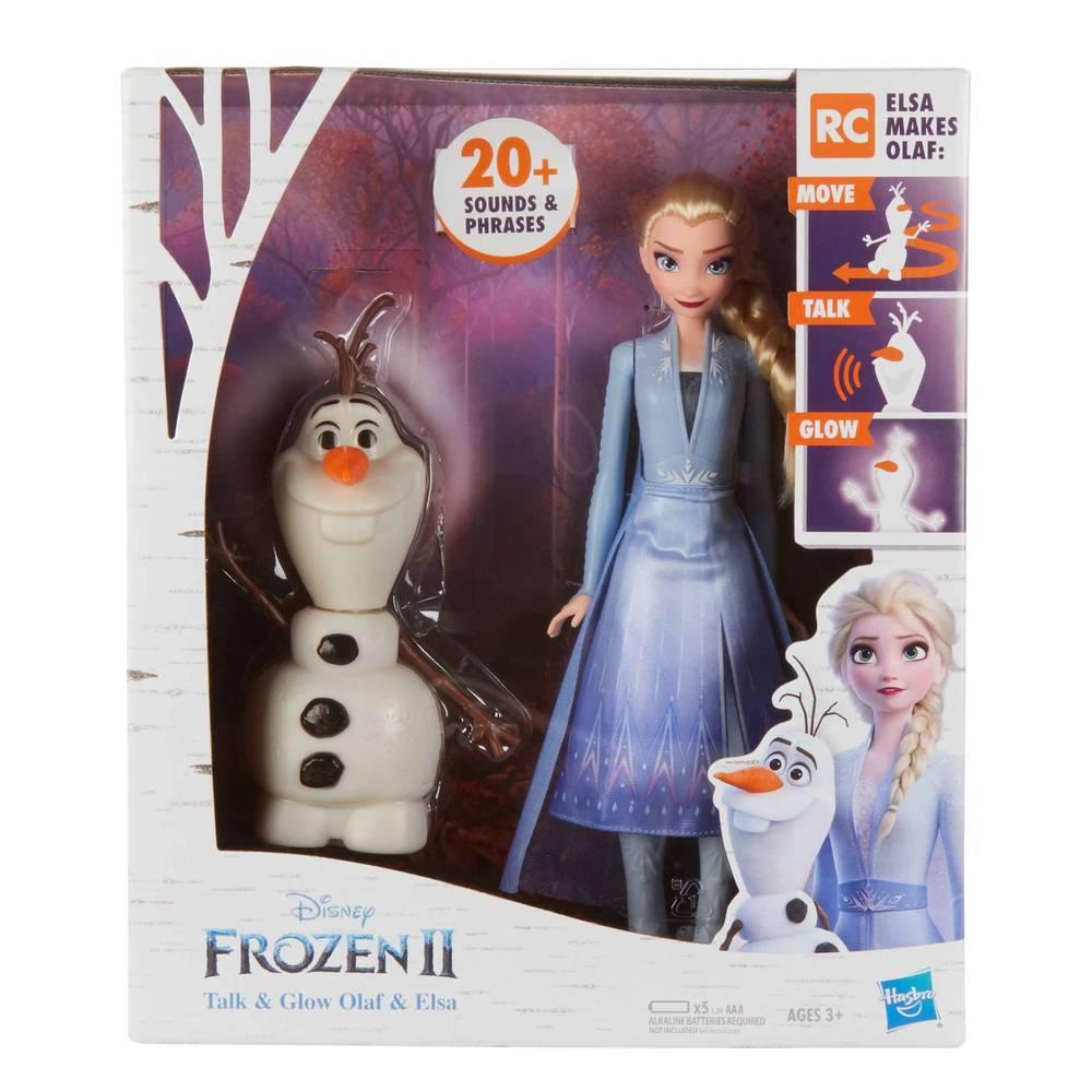 Disney Frozen 2 interactieve Elsa en Olaf poppen