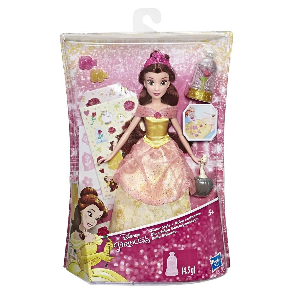 Disney Princess Glitter Style Belle modepop