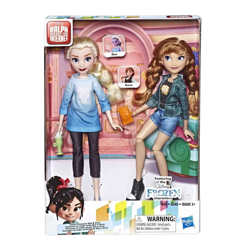 Disney Princess Frozen 2 Elsa en Anna modepoppen
