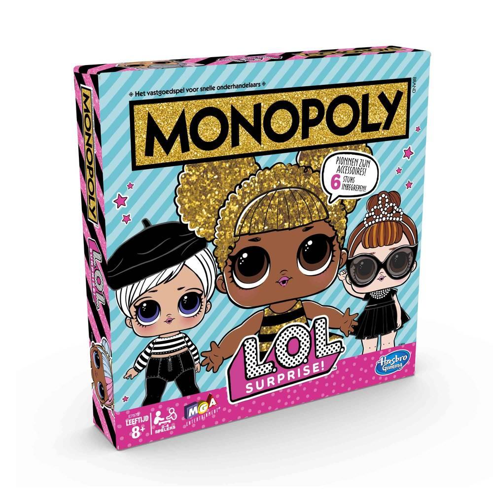 Monopoly L.O.L. Surprise! editie