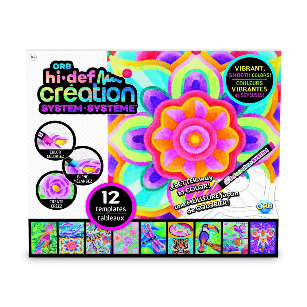 HI-DEF Creation System navulset kleurplaten Jungle Kingdom