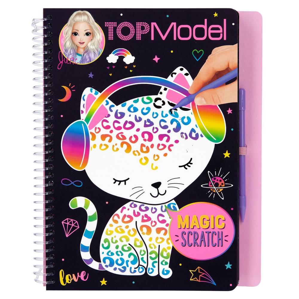 TOPModel Magic Scratch boek