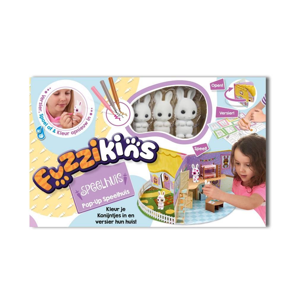 Fuzzikins 3D pop-up speelhuis
