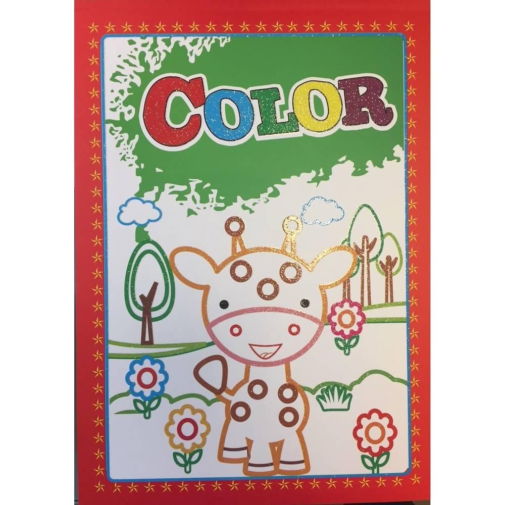 Glitter kleurboek