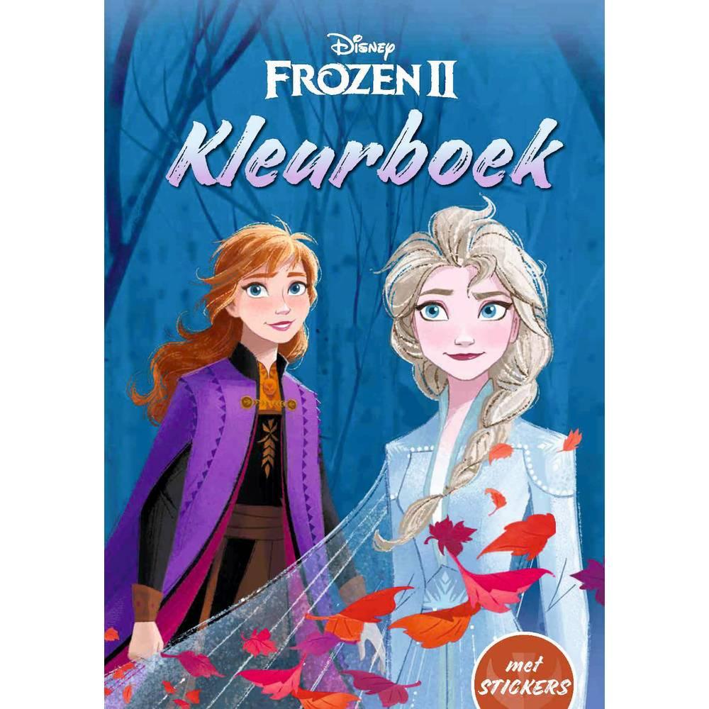 Disney Frozen 2 kleurboek met stickers