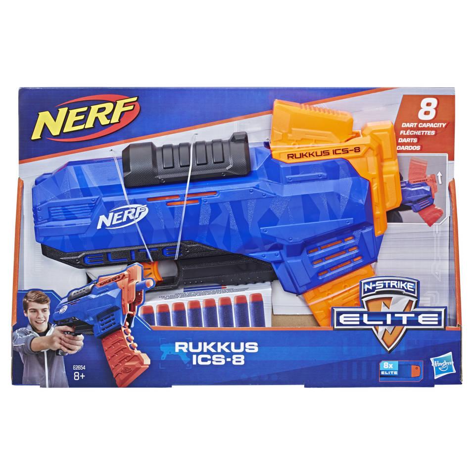 NERF N-Strike Elite Rukkus ICS-8 blaster