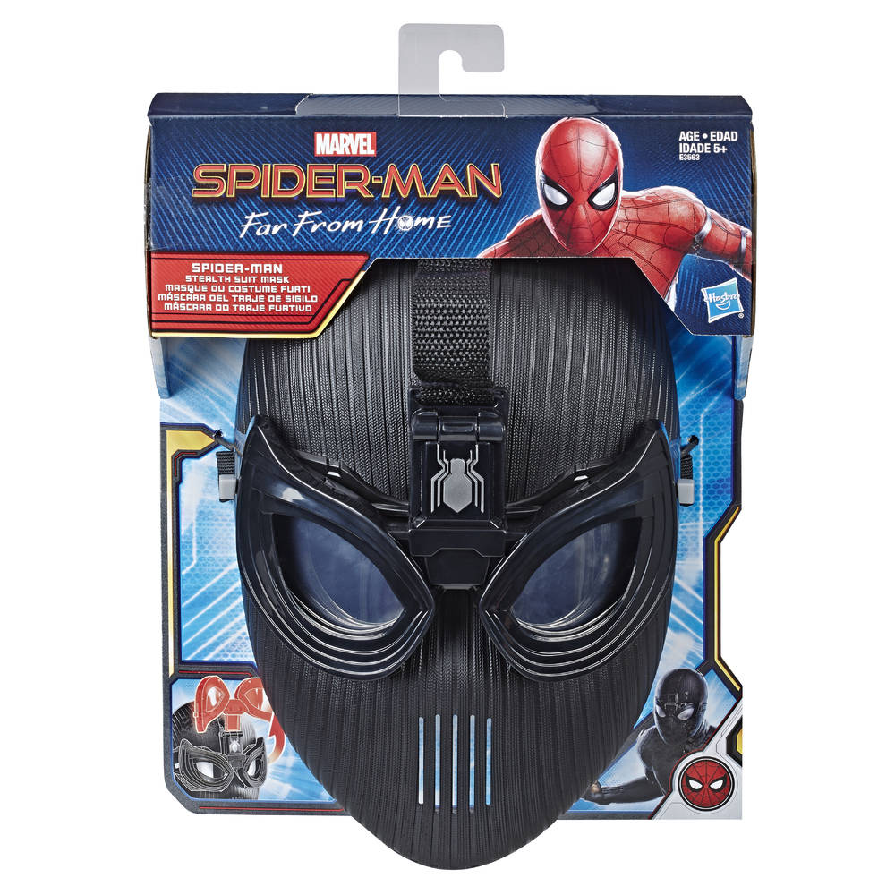 Spider-Man Movie Stealth Suit masker