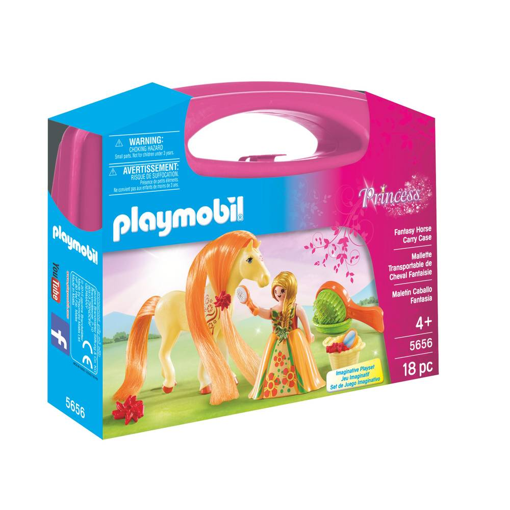PLAYMOBIL Princess meeneem paardenset 5656