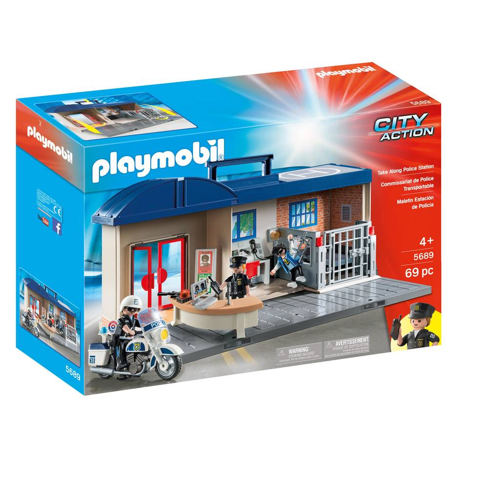 PLAYMOBIL City Action meeneem politiebureau 5689
