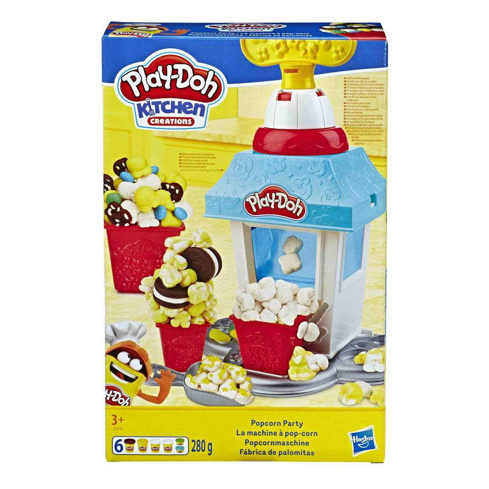 Play-Doh Kitchen Creations Popcorn Party speelset