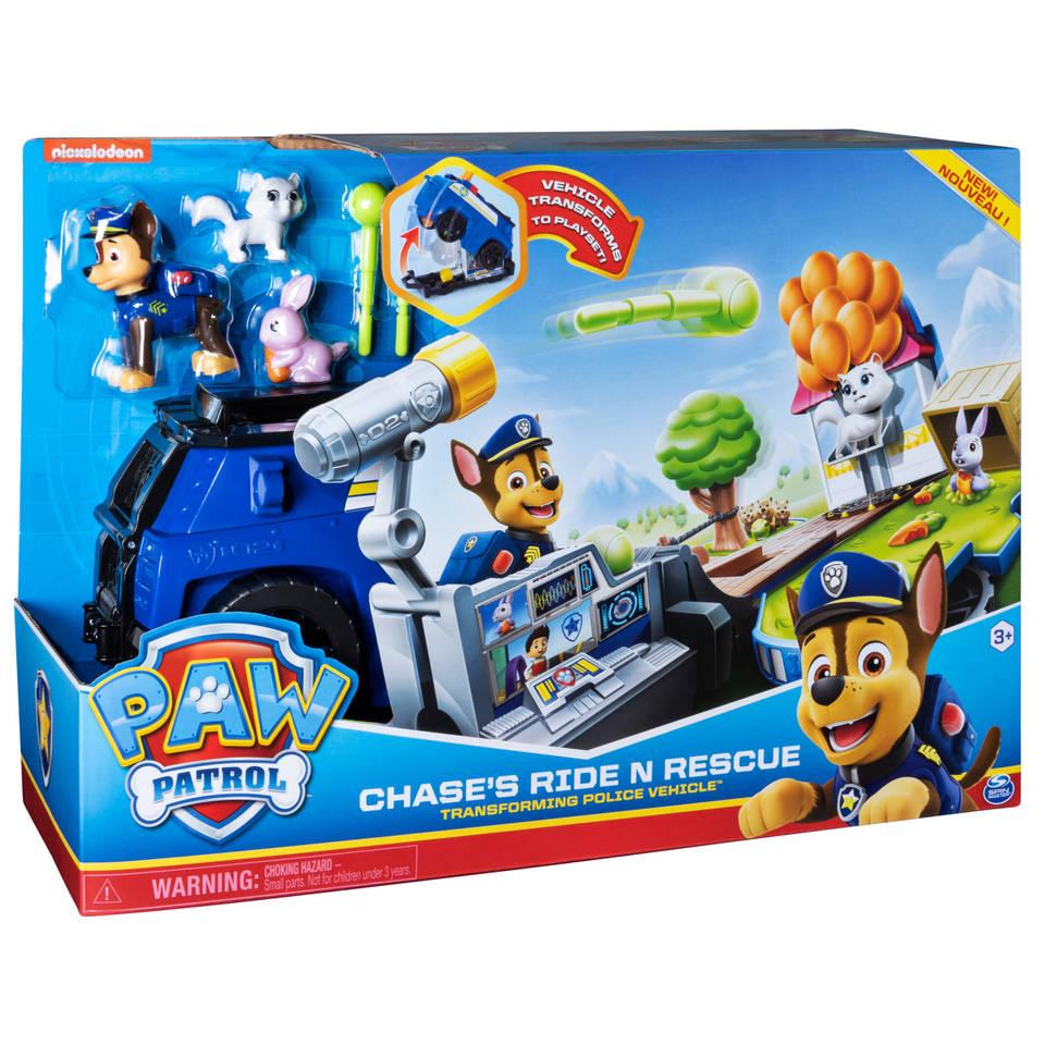 PAW Patrol Ride 'n Rescue voertuig Chase