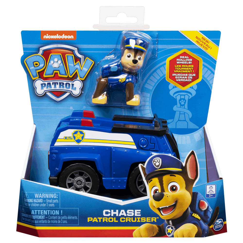 PAW Patrol politieauto met Chase