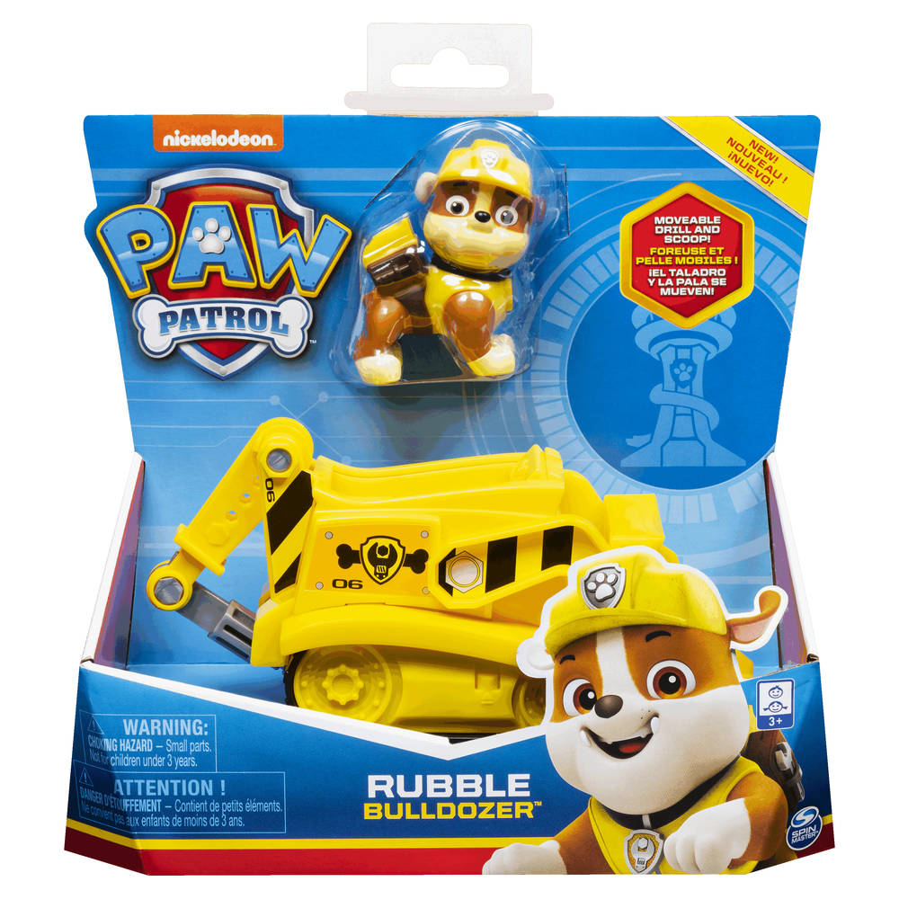 PAW Patrol bulldozer met Rubble