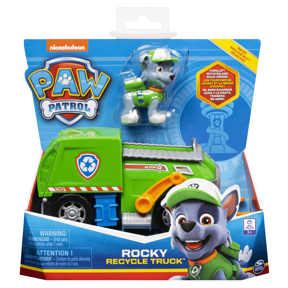 PAW Patrol vuilniswagen met Rocky