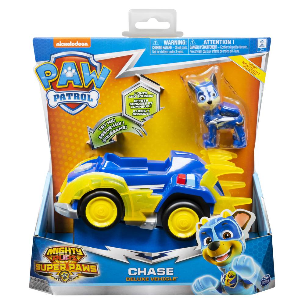 PAW Patrol Mighty Pups politieauto Chase