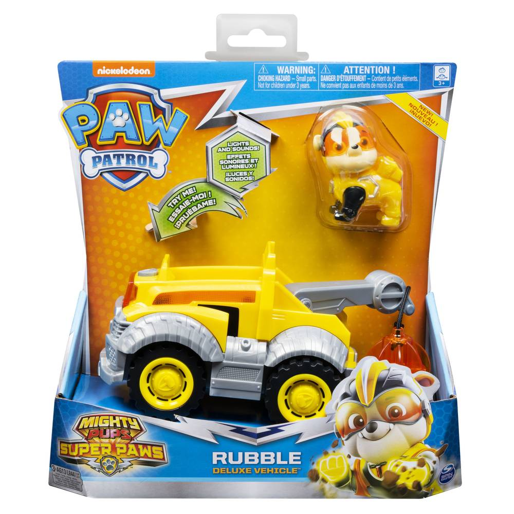 PAW Patrol Mighty Pups bouwtruck Rubble