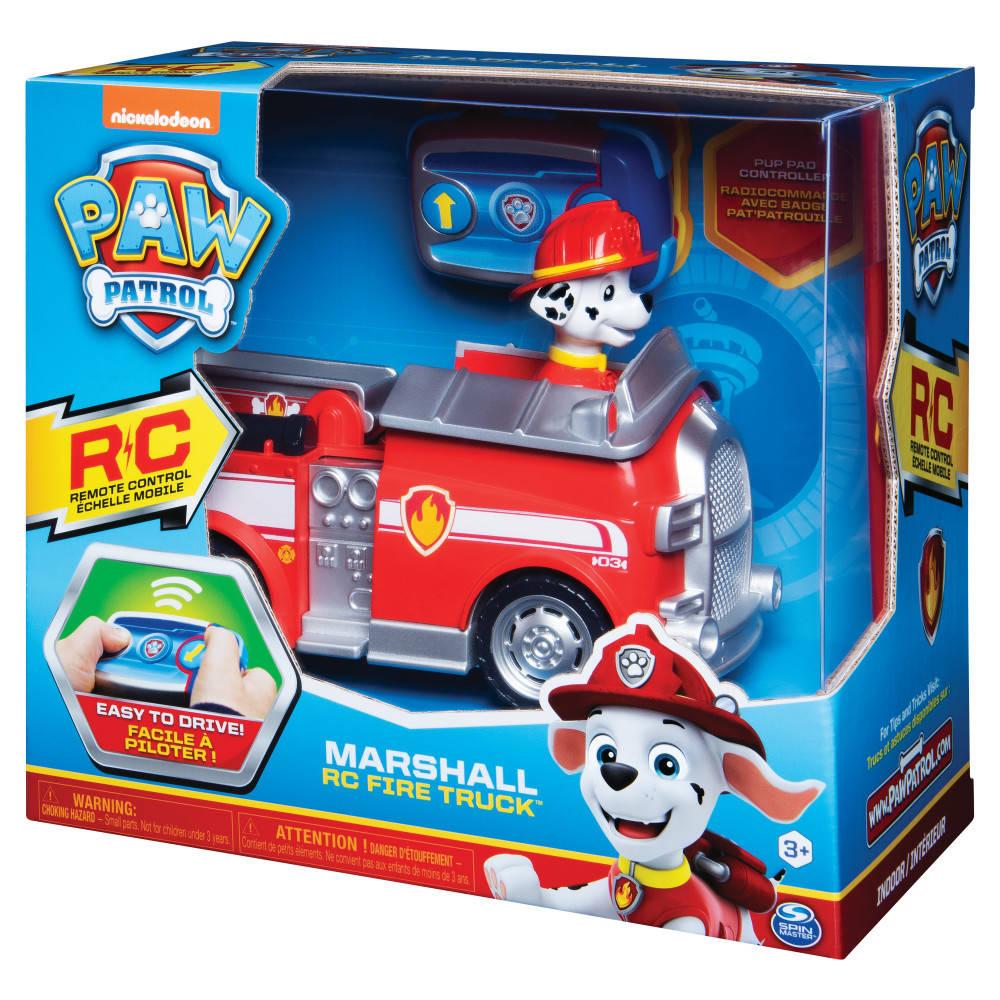 PAW Patrol op afstand bestuurbare brandweerauto van Marshall