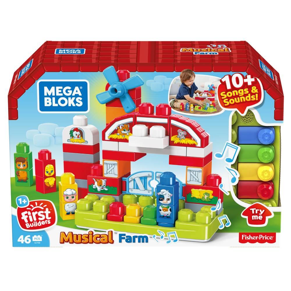 Mega Bloks muzikale boerderij
