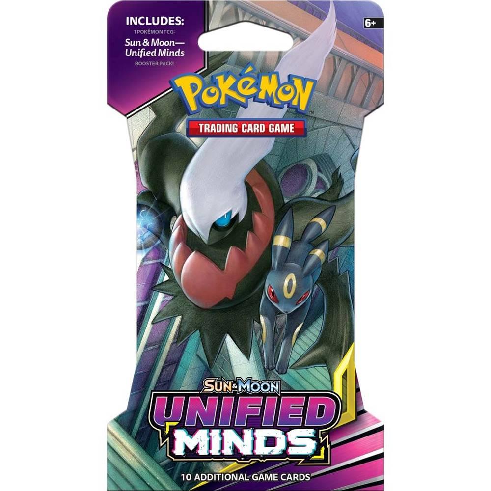 Pokémon TCG Sun & Moon Unified Minds sleeved booster