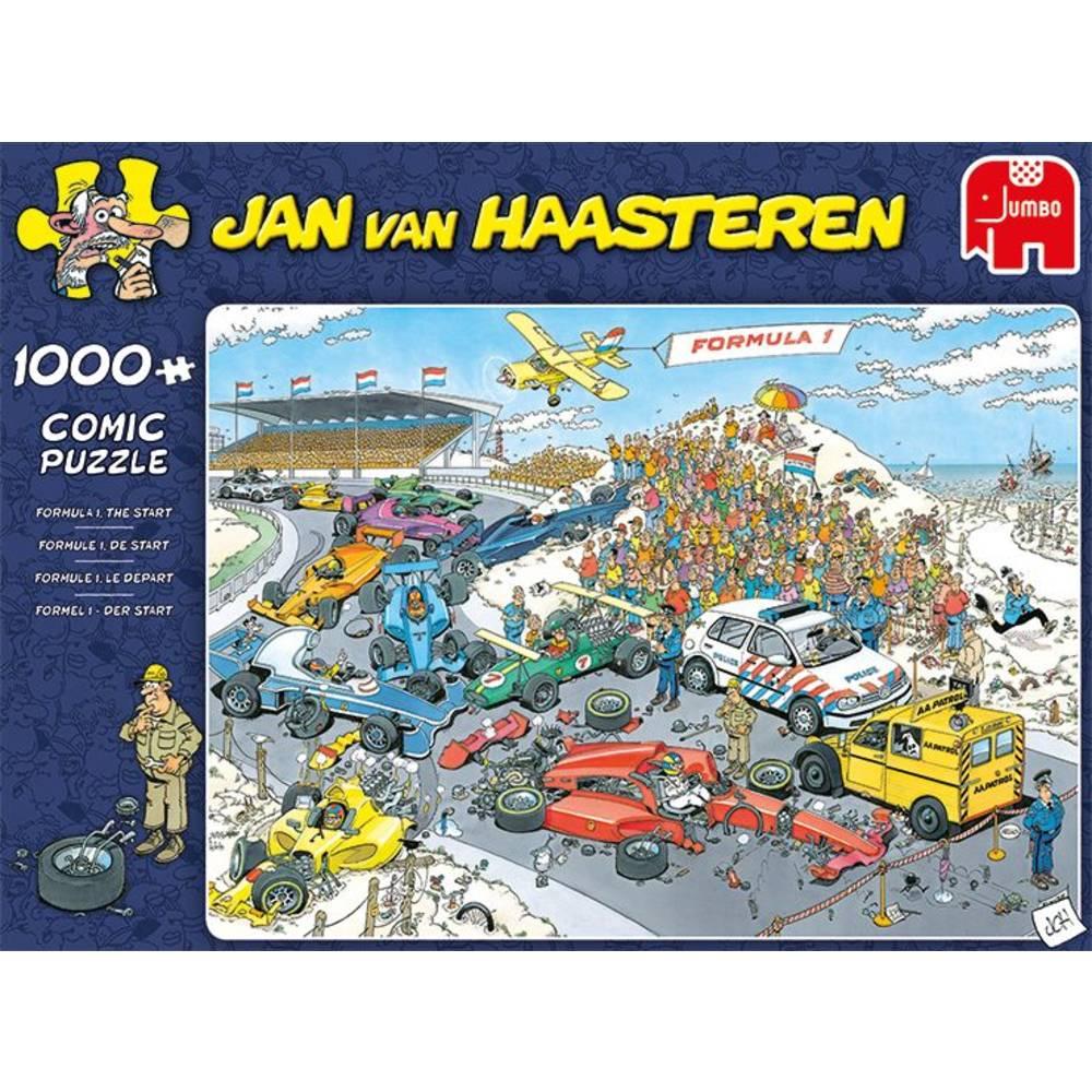 Jumbo Jan van Haasteren puzzel Formule 1 de Start - 1000 stukjes