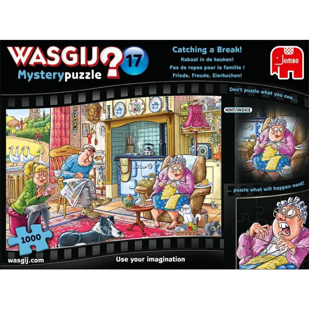 Jumbo Wasgij Mystery 17 puzzel kabaal in de keuken - 1000 stukjes