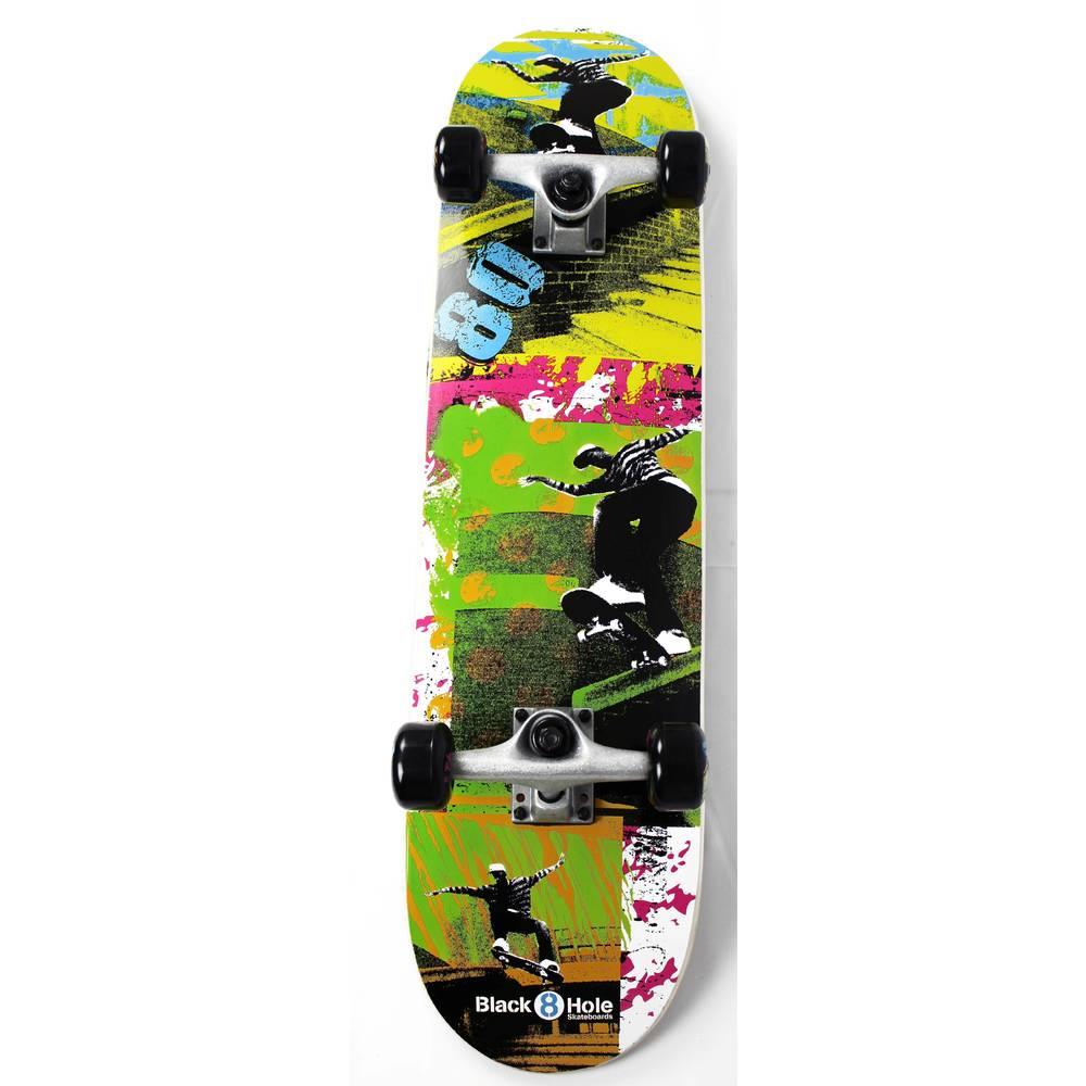 Black8Hole Eighties skateboard - 31 inch