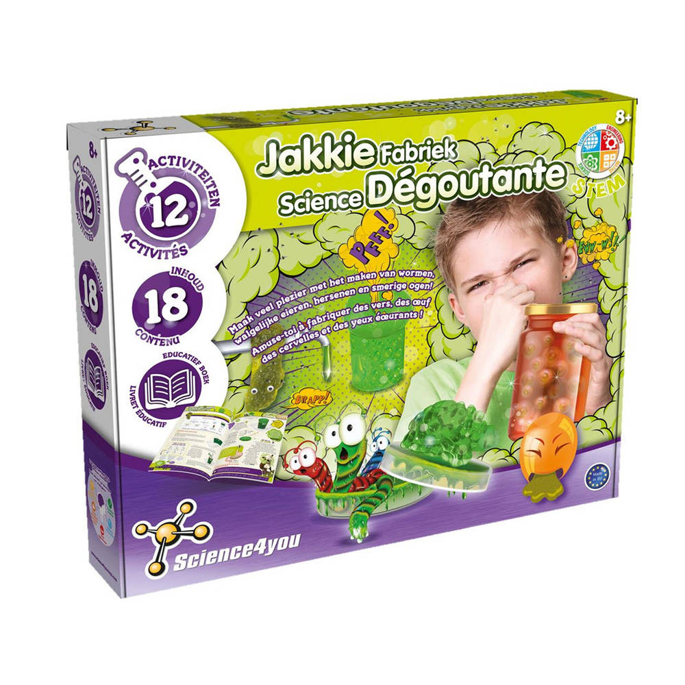 Science4you Jakkie fabriek
