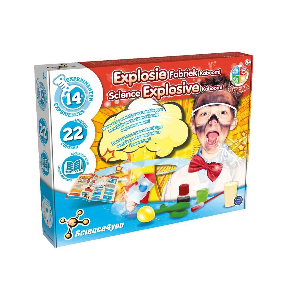 Science4You Explosie Fabriek Kaboom! experimenteerset