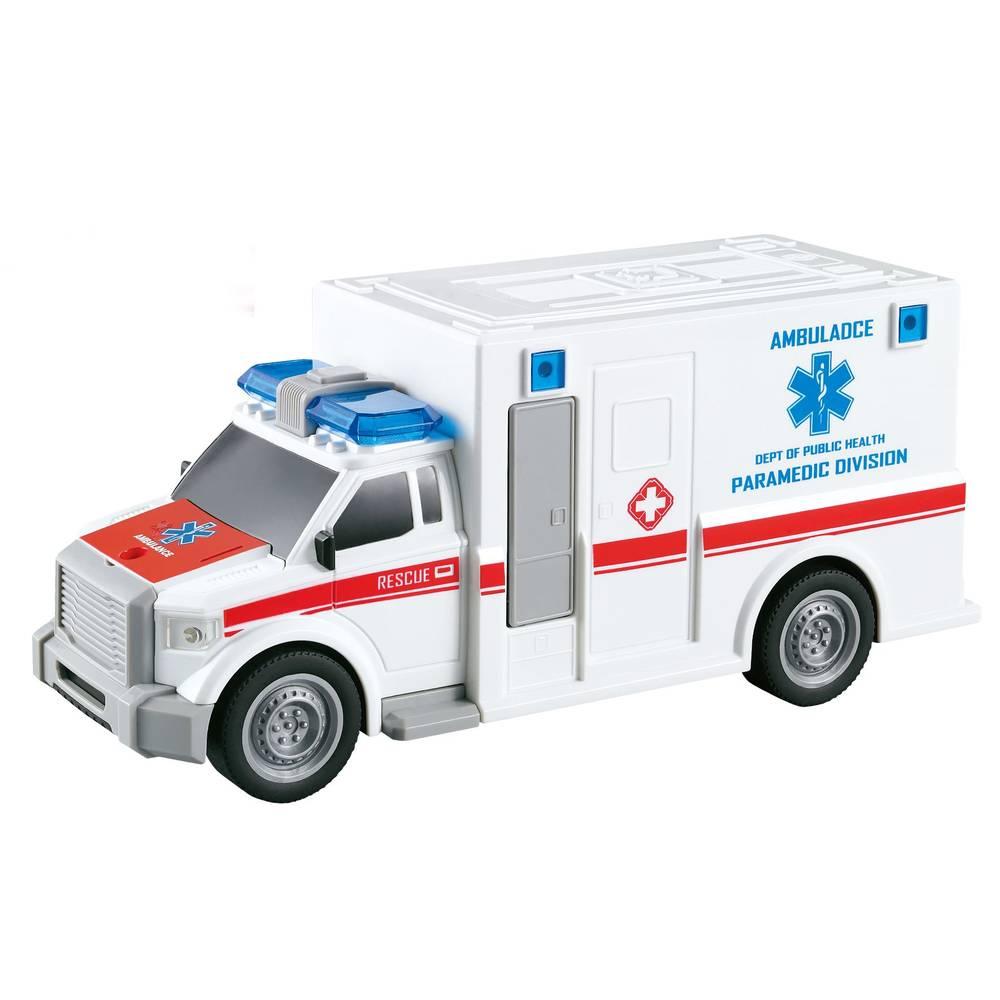 Ambulance met licht en geluid - 1:20