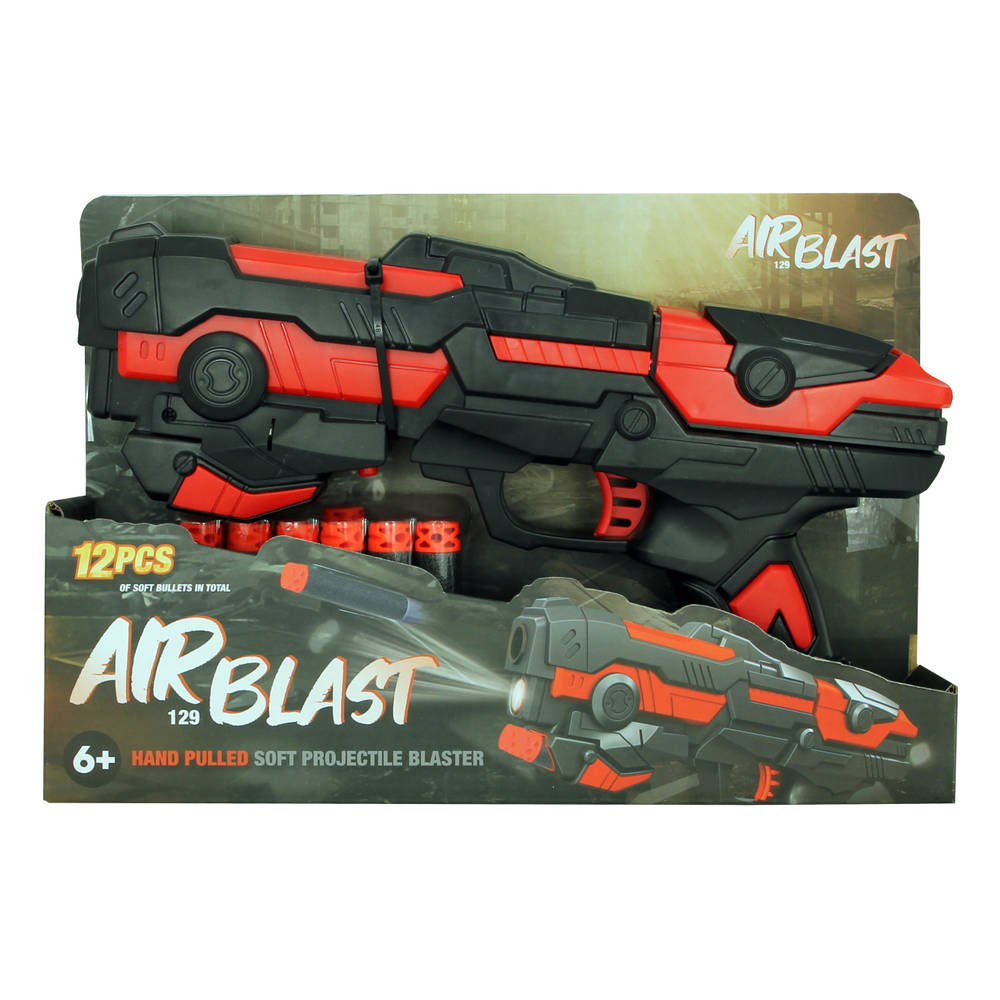 Airblast softbullet blaster - 29 cm