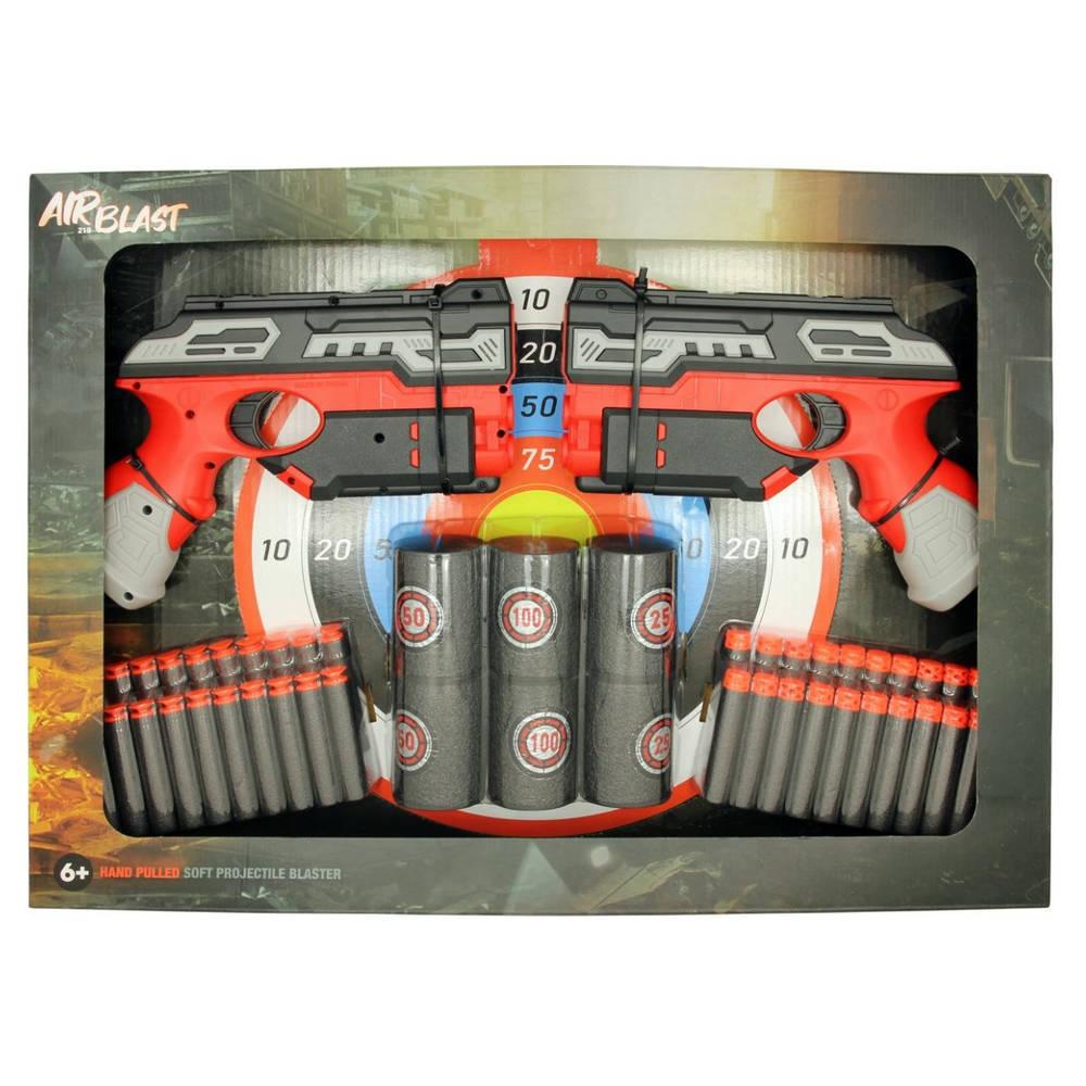 Dual Airblast softbullet blaster - 19 cm