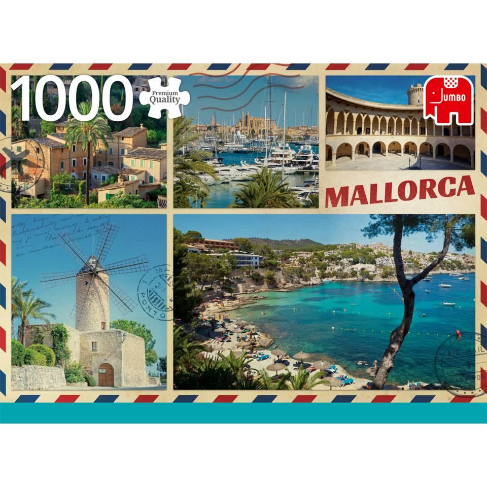 Jumbo puzzel Groeten uit Mallorca - 1000 stukjes