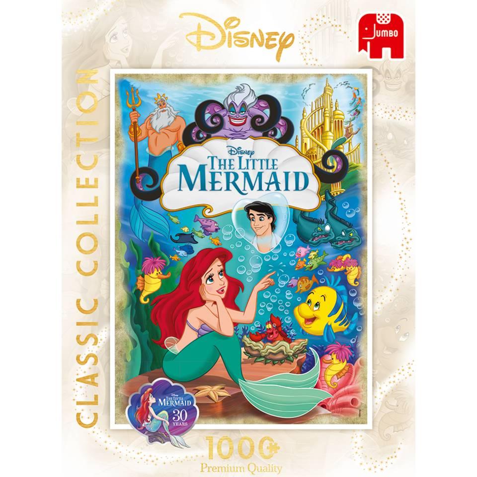 Jumbo puzzel Premium collectie de kleine zeemeermin - 1000 stukjes