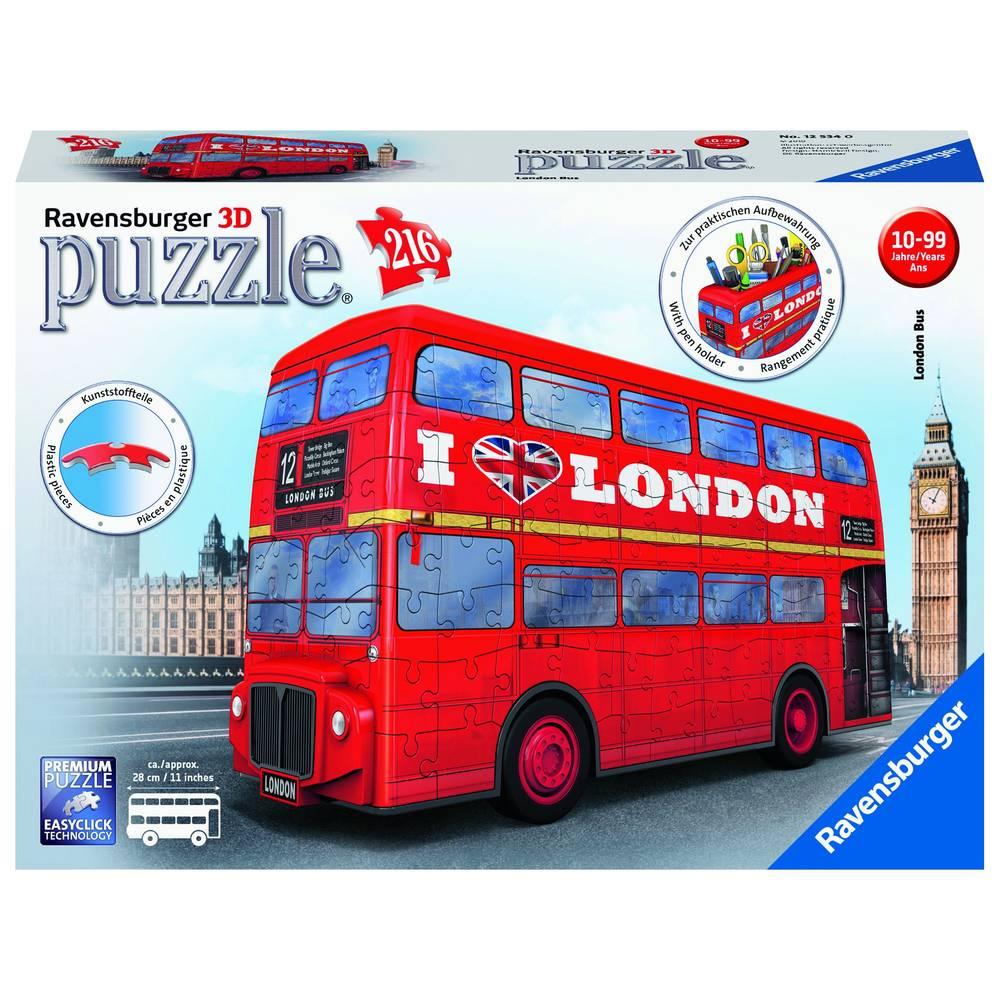 Ravensburger 3D-puzzel Londense bus