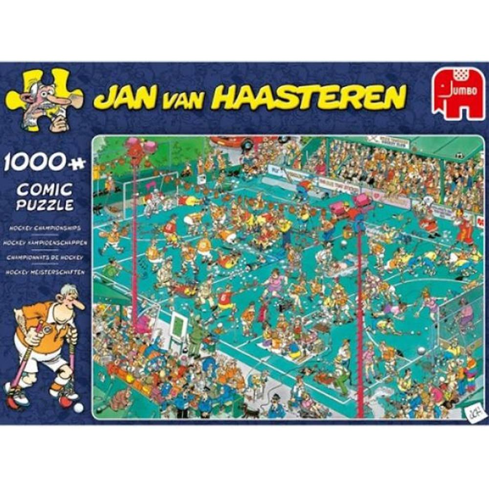 Jumbo Jan van Haasteren puzzel hockey kampioenschappen - 1000 stukjes